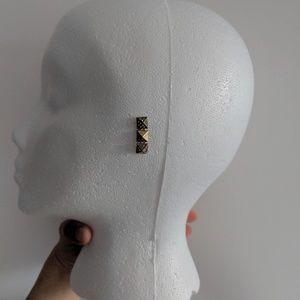 [J. Crew] NWOT Diamond Studded Earrings